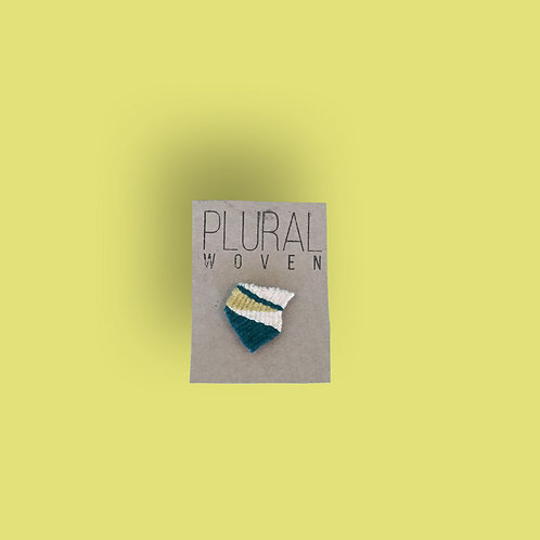 Woven Colorway Pins by Plural Woven