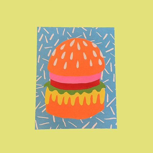 Burger by Christina Lee