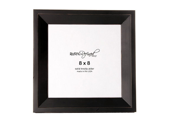8x8 Haven picture frame - Black