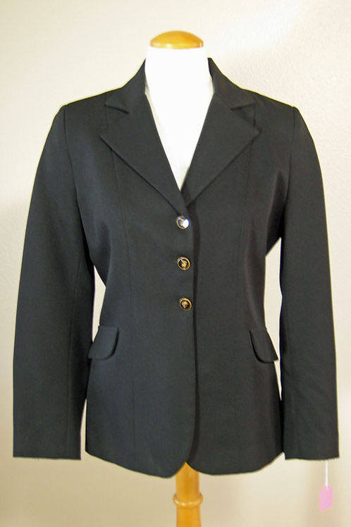 Livery Black Coat - Ladies 10 and 14