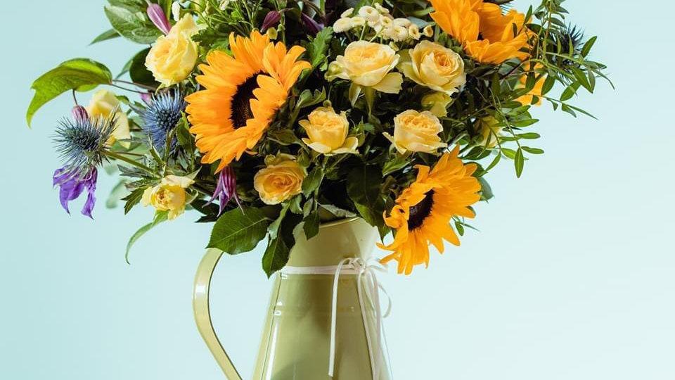 Sunflower Jug (£40 pictured)