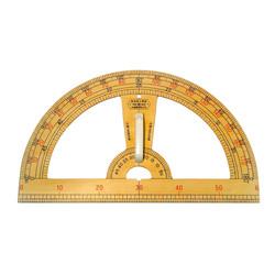 教授用木製分度器