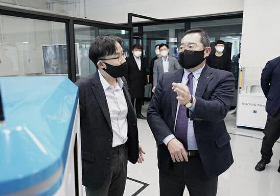 구자열 무협 회장, 취임 후 첫 수출 현장 소통