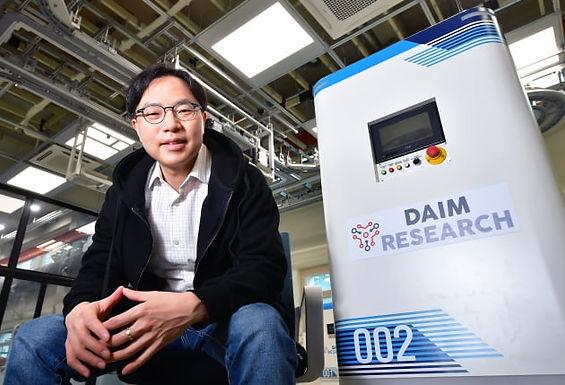 """[2021 한밭대 스타트업 CEO] """"디지털트윈과 AI 활용해 공장과 물류창고를 스마트하게"""" 다임리서치"""