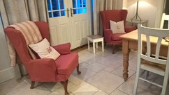 Loose covers wing chairs