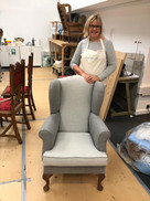 Super wing chair.