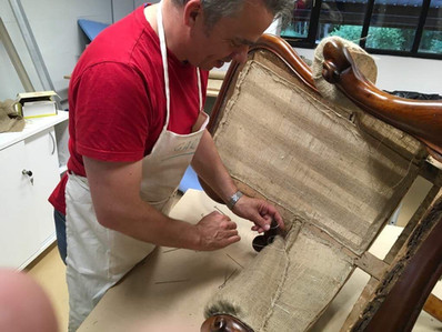 Traditional upholstery