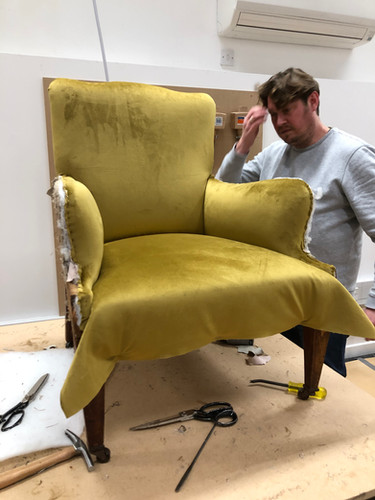A 'not so easy' easy chair