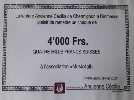 4000 MERCIS