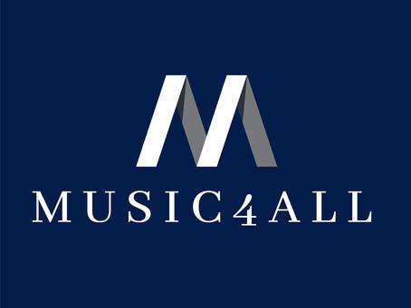 L'ASSOCIATION MUSIC4ALL reconnue d'utilité publique!