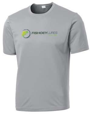 Performance DRI-Fit Shirt Short Sleeve - Light Gray - Color Logo