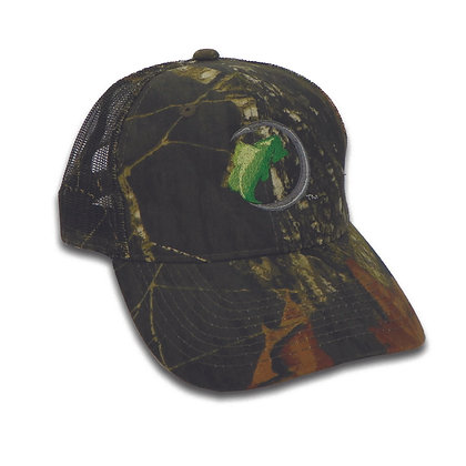 Mesh Back Baseball Caps - Color Logo Element