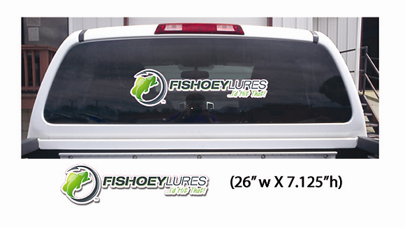 Large - Vehicle & Boat Decals - Horizontal