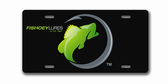 Vehicle Tag - Metal - Black - Color Element Logo