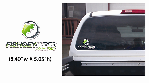 Small - Vehicle & Boat Decals - Vertical