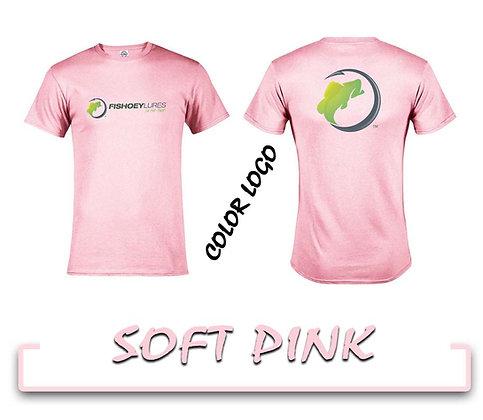 T-Shirt - Soft Pink - Color Logos