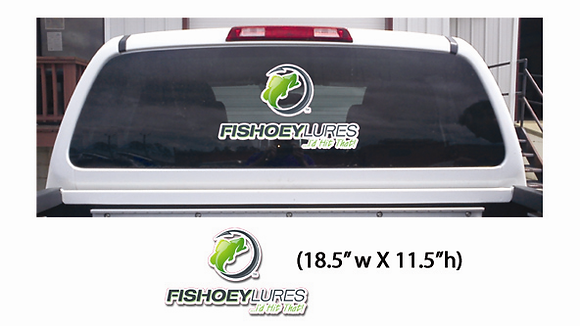 Large - Vehicle & Boat Decals - Vertical