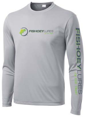 08a04cc5 Performance DRI-Fit Shirt Long Sleeve - Silver - Color Logo. $ 34.95.  Puretech Technology wicks away moisture and sweat to keep you dry.
