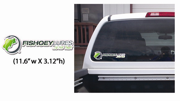 Small - Vehicle & Boat Decals - Horizontal