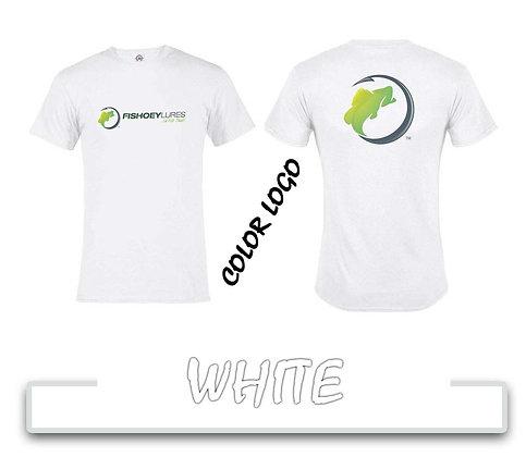 T-Shirt - White - Color Logos
