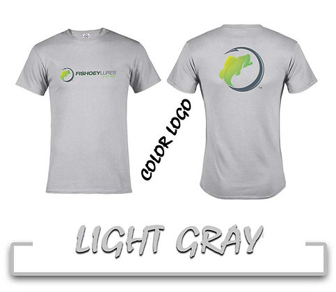 T-Shirt - Light Gray - Color Logos