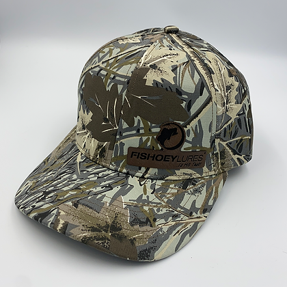 SOLID BACK / ADJUSTABLE  - Richardson R-Series Sport Casual Camo Cap