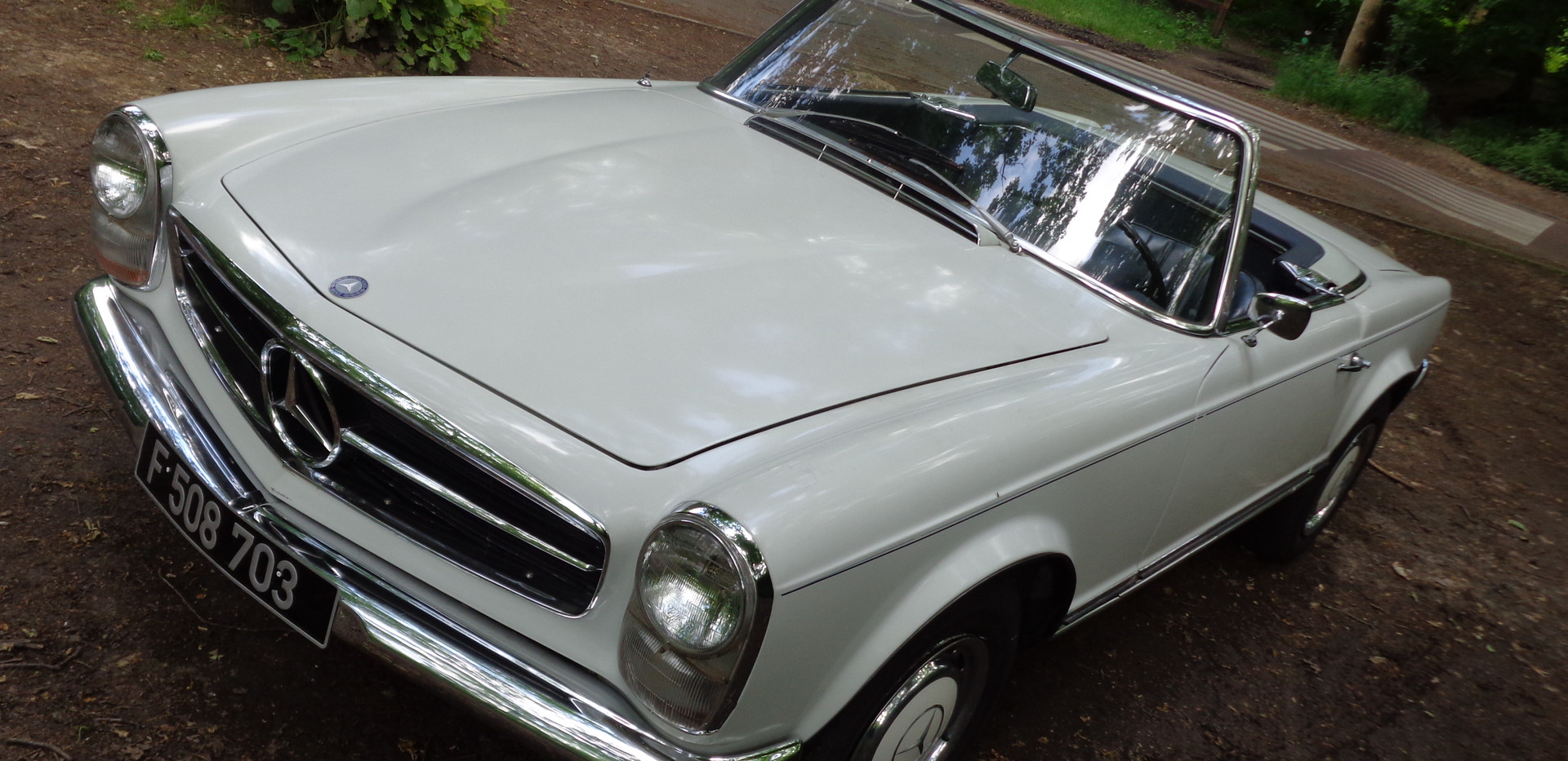 Mercedes 230 SL 1967