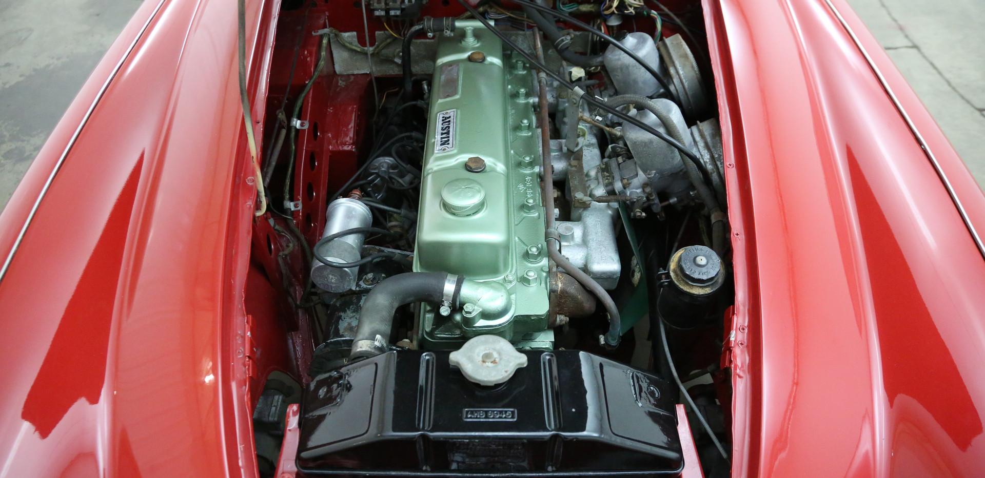 Austin Healey 3000 BJ8 Mk3