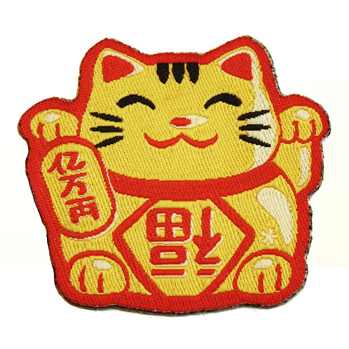 Patch Maneki-Neko Cat