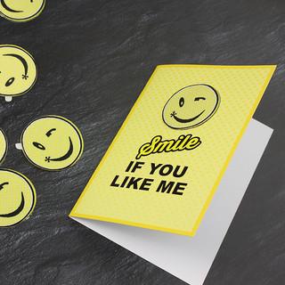 Smile if you like me