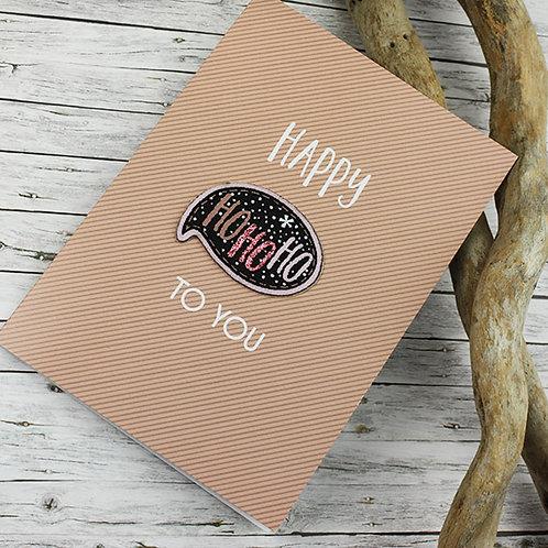 Ho Ho Ho X-Mas Card