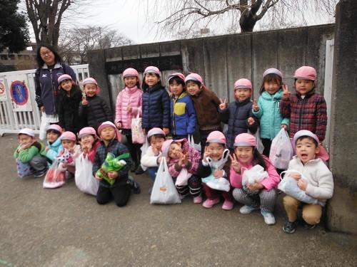 1月 宮上小学校見学(らいおんぐみ)