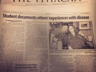 Senior Documents Lives Affected By Disease