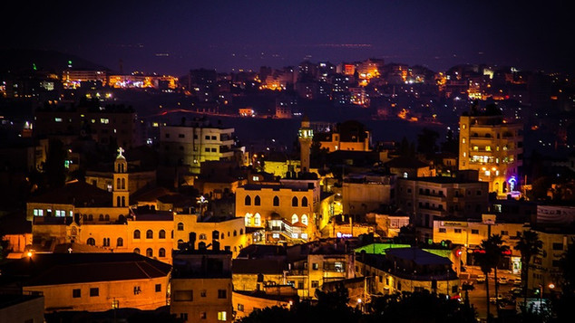Visualizing Ramallah - Light Festival (PS)