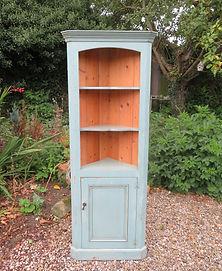 Painted Corner Cupboard £175