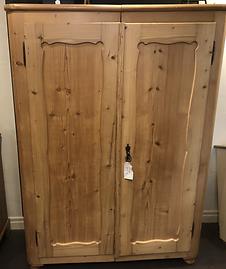 Double doored antique wardrobe