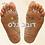 "Thumbnail: מפת רפלקסולוגיה של כף הרגל -  90 *60  ס""מ"