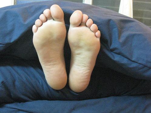 סדנה 1 - אבחון רפלקסולוגי של כפות הרגליים