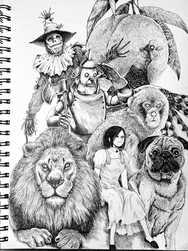 【Drawing】旅の仲間/ art / Timelapse