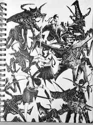 【Drawing】StarshipTroopersを描いてみた!