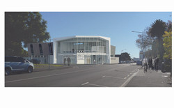 Render Harcourts Head Office