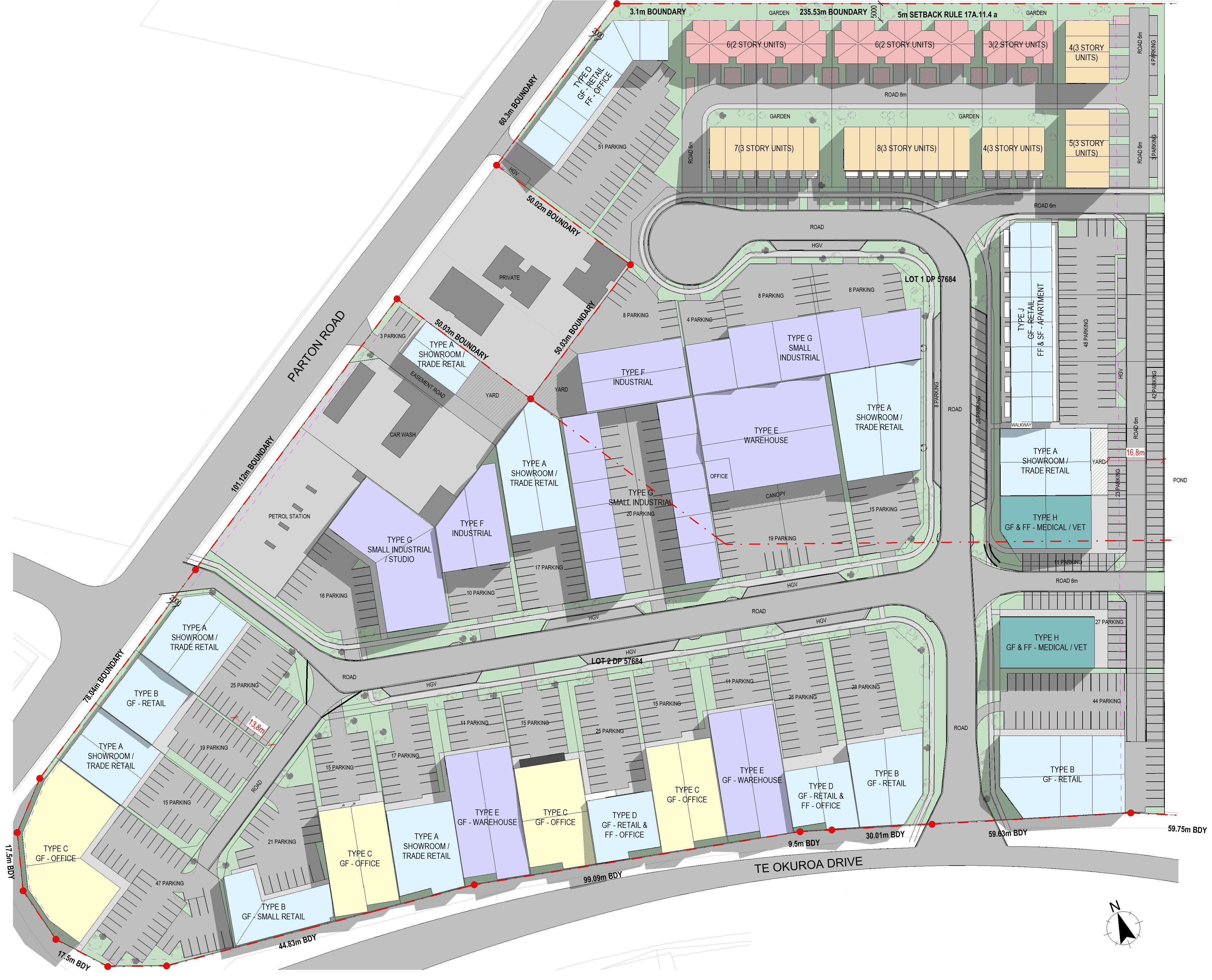 Parton Road Masterplan