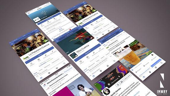 Redes Sociales, Facebook, Instagram, Twitter, Linkedin, Pinterest