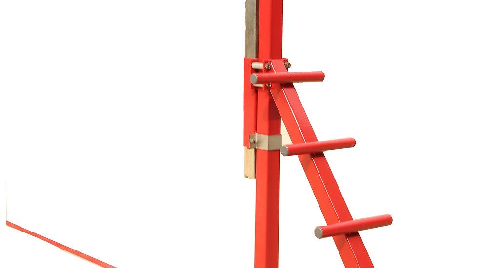 Height Adjustable Spotting Platform for rings