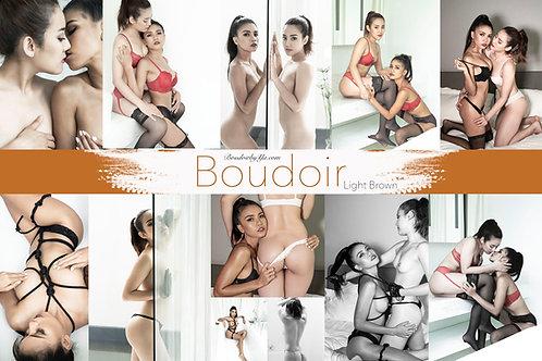 Light Brown Boudoir set