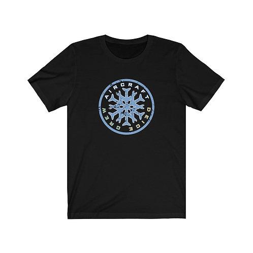AIRCRAFT DEICE CREW FRONT PRINT Unisex Short Sleeve T-Shirt