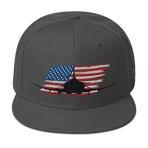 F-4 PHANTOM USA Snapback Hat