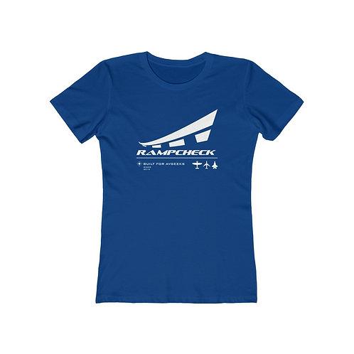 RAMPCHECK BUILT FOR AVGEEKS Women's The Boyfriend T-shirt