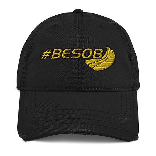 #BESOB Distressed Hat