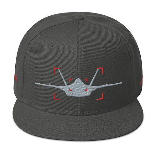 LOCKED ON PANTHER AVIATION PHOTOGRAPHY Snapback Hat